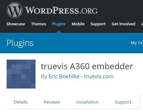 A360 Embedder Wordpress Plugin - BIM Consulting